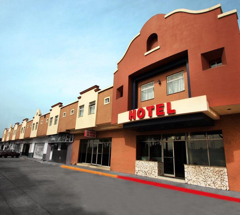 Fachada Hotel Astor Hotel Astor Tijuana